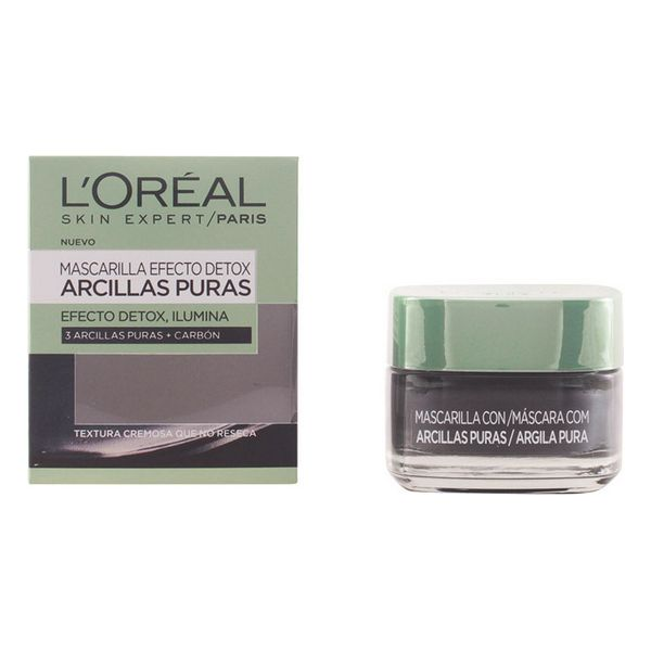 Mascarilla Negra L'Oreal Make Up