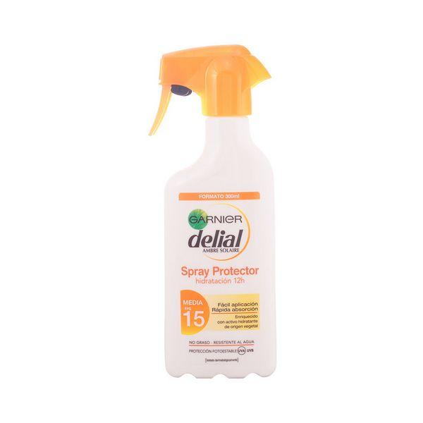Mleko za sončenje Delial SPF 15 (300 ml)
