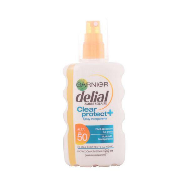 Zaščitni sprej za sonce Clear Protect Delial SPF 50+ (200 ml)