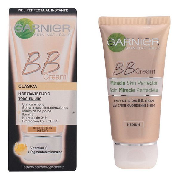 Crema Hidratante Efecto Maquillaje Skin Naturals Bb Cream Garnier 16382
