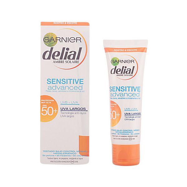 Krema za Sončenje za Obraz Sensitive Delial SPF 50+ (50 ml)