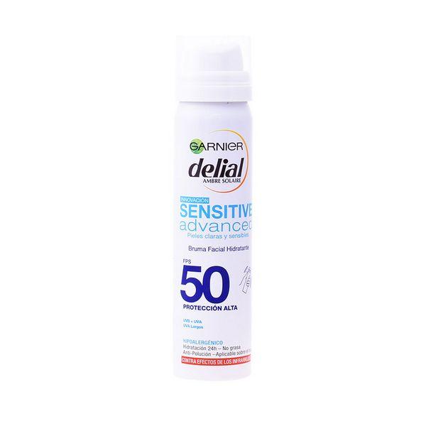 Meglica za zaščito pred soncem Sensitive Advanced Delial SPF 50 (75 ml)