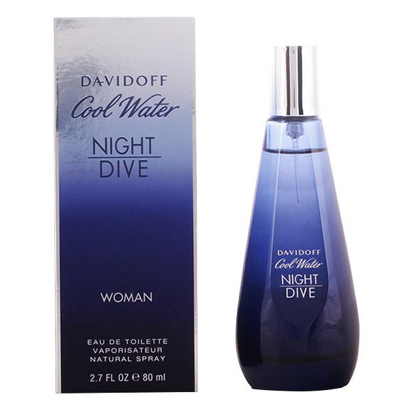 Perfume Mujer Cool Water Night Dive Wo Davidoff EDT