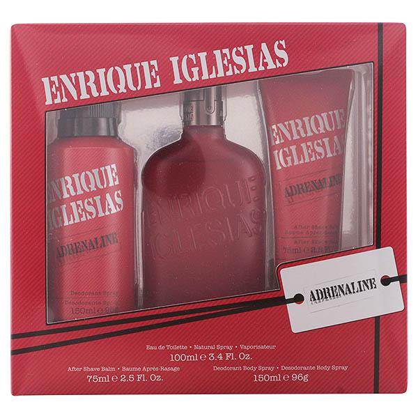 Set de Perfume Hombre Enrique Iglesias Adrenaline Singers (3 pcs)