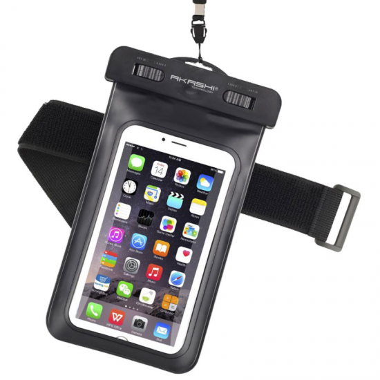 Custodia Subacquea Akashi ALTIPX8DRYBLK Smartphone 10 m