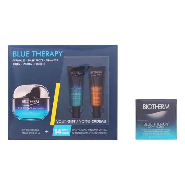 Set de Cosmética Unisex Blue Therapy Accelerated Creme Ttp Biotherm (3 pcs)