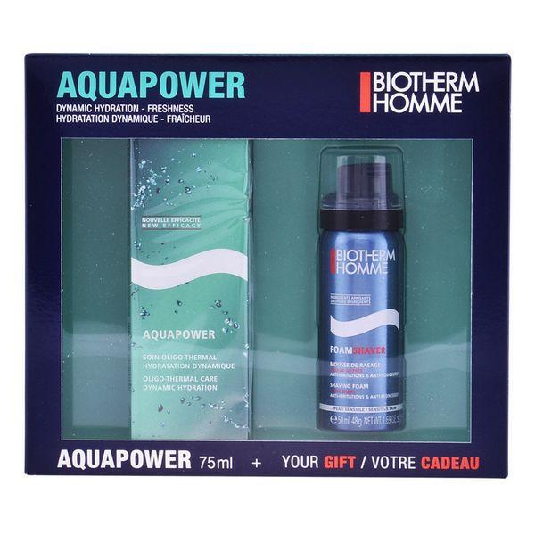 Set para el Afeitado Homme Aquapower Biotherm (2 pcs)