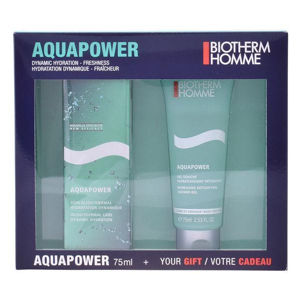 Set de Cosmética Hombre Homme Aquapower Biotherm (2 pcs)