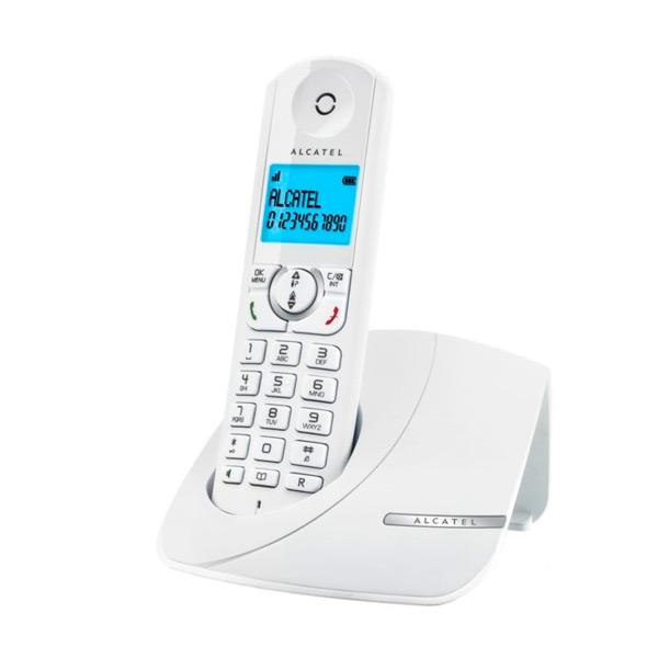 Telefono Senza Fili DUO Alcatel F380-S (2 pcs) Bianco
