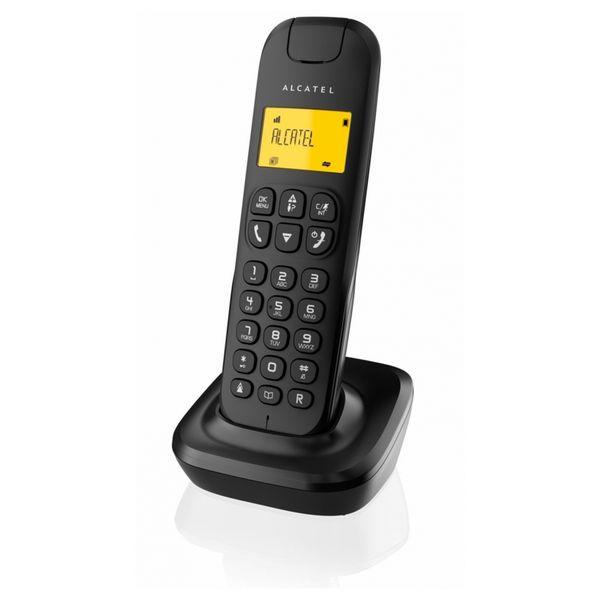 Telefono Senza Fili Alcatel D-135 DECT Nero