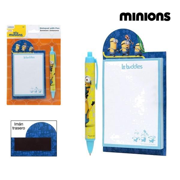 Penna +  Taccuino Minions 59483 Giallo Azzurro