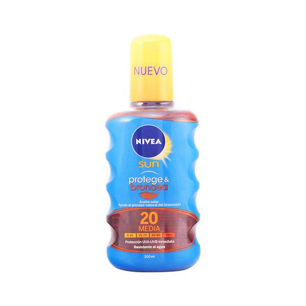 Zaščitno olje Spf 20 Nivea 3557