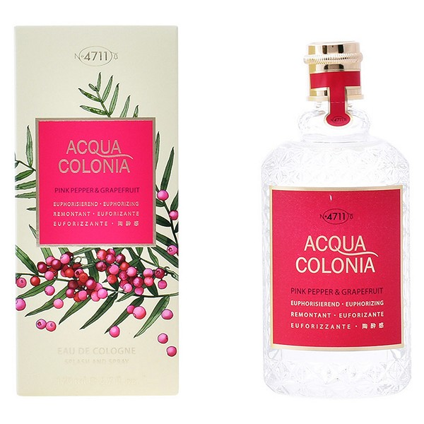 Perfume Unisex Acqua 4711 EDC Pink Pepper & Grapefruit