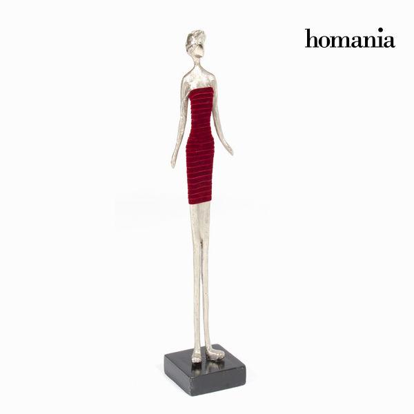 Rjava figurica ženska obleka by Homania