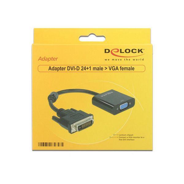 Adapter VGA v DVI DELOCK APTAPC0561 65658 24+1