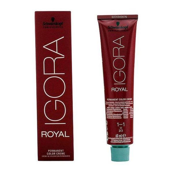 Barva za lase brez amonijaka Igora Royal Schwarzkopf