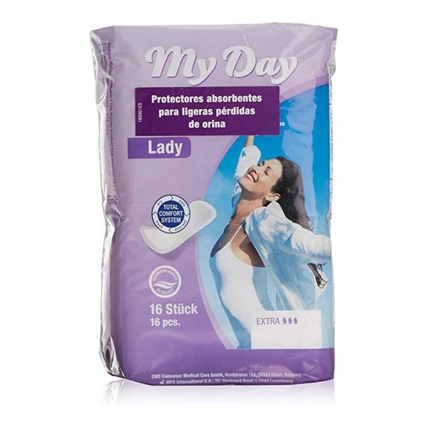 Higienski vložki za inkontinenco Extra My Day (16 uds)