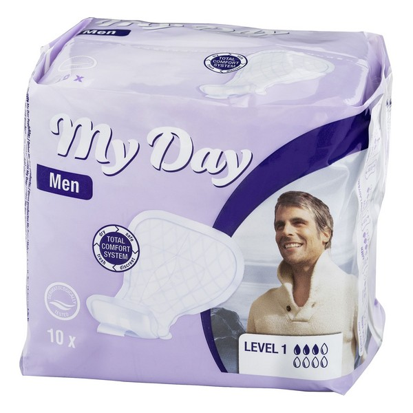 Higienski vložki za inkontinenco Men Active My Day (14 uds)