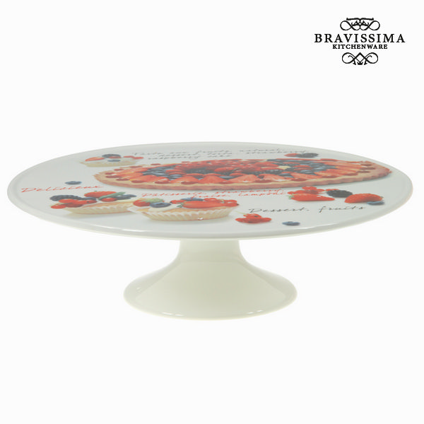 Antipastiera Porțelan (33 x 33 x 11 cm) - Kitchen's Deco Collezione by Bravissima Kitchen