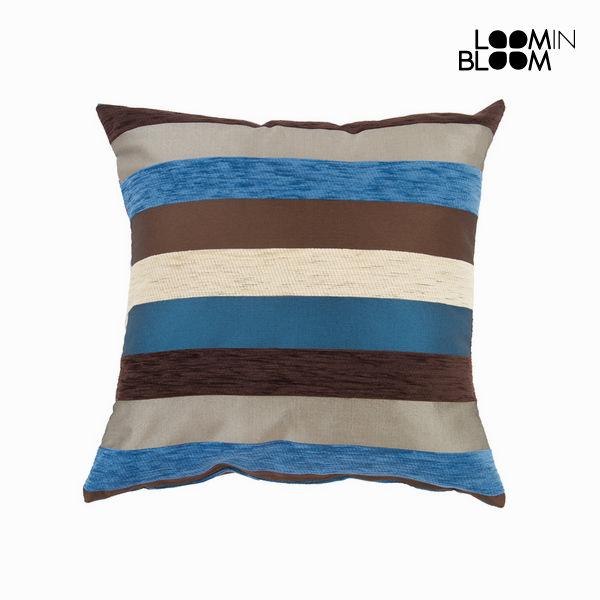 Cuscino Azzurro (60 x 60 cm) - Colored Lines Collezione by Loom In Bloom