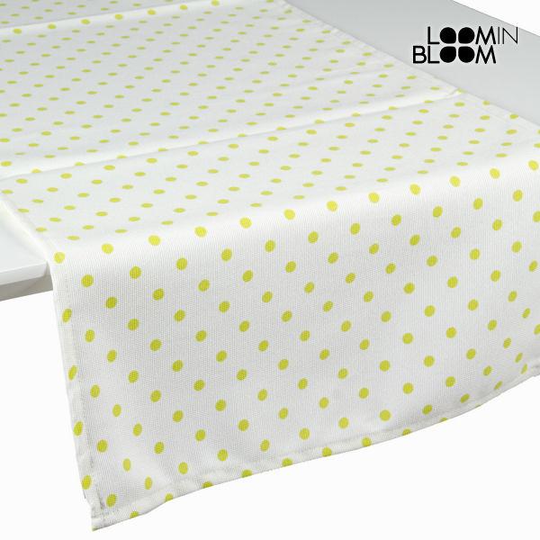 Naravno zelen prt tekač s pikami - Little Gala Zbirka by Loomin Bloom
