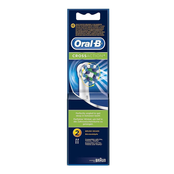 Testina di Ricambio Cross Action Oral-B (2 uds)