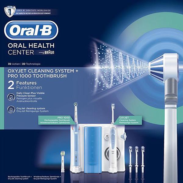 Cepillo de Dientes Eléctrico Oral-B 1000 Pro Blanco (1)