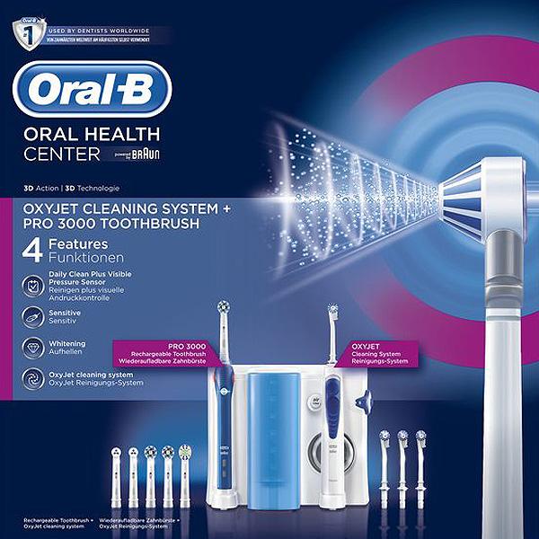 Cepillo de Dientes Eléctrico Oral-B 3000 Pro Azul (1)
