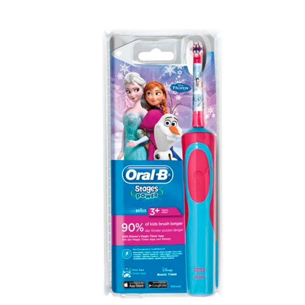 Cepillo de Dientes Eléctrico Oral-B Frozen