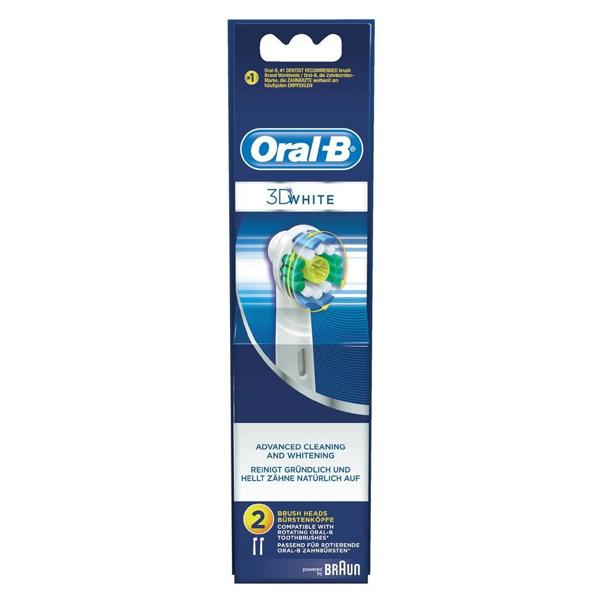 Testina di Ricambio 3d White Pro-bright Oral-B (2 uds)