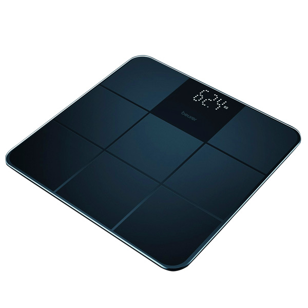 Digitalne kopalniške tehtnice Beurer GS235 Črna