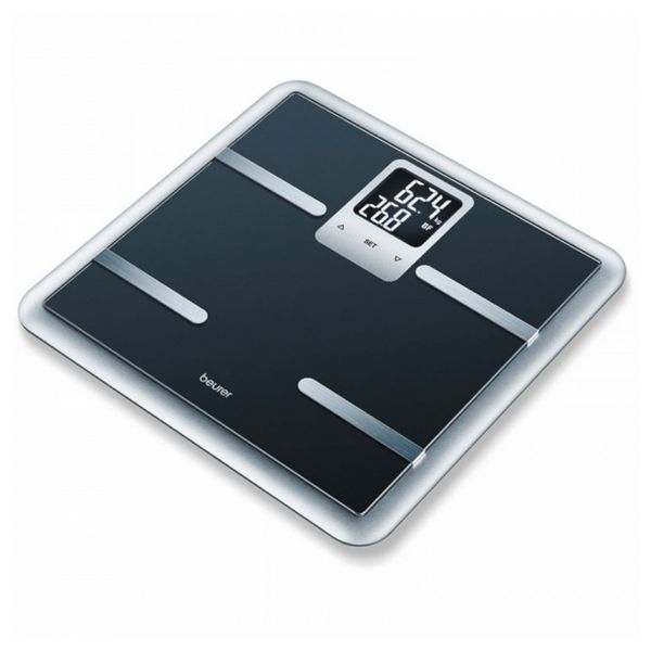 Digitalne kopalniške tehtnice Beurer 761.06 Črna