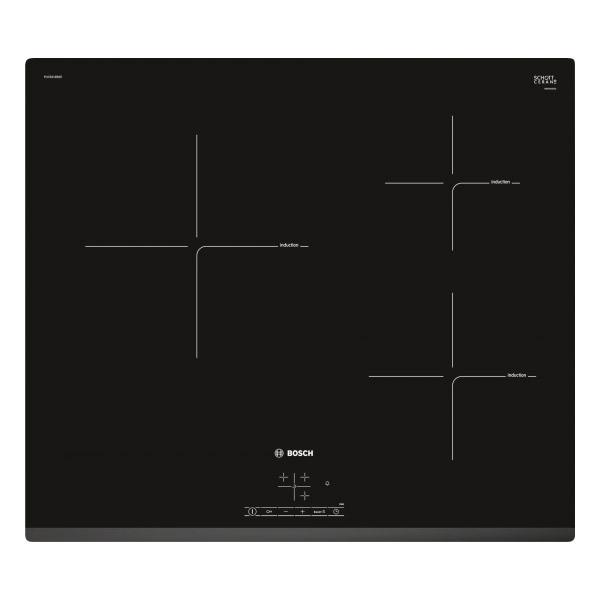 Piano Cottura ad Induzione BOSCH PUC631BB2E 60 cm (3 fuochi)
