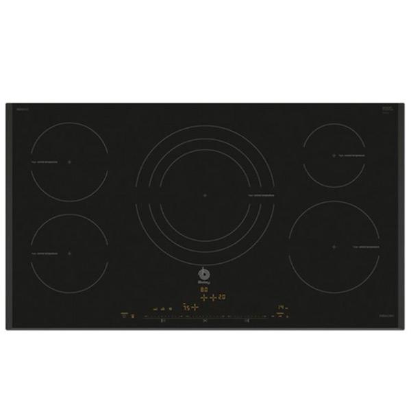 Piano Cottura ad Induzione Balay 3EB997LT 90 cm Nero (5 fuochi)