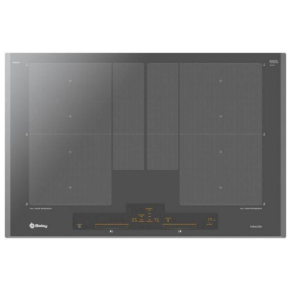 Piano Cottura ad Induzione Balay 3EB980AU 80 cm Antracite (2 fuochi)