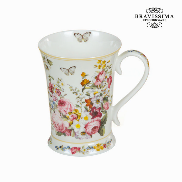 Tazza Porțelan 270 ml - Kitchen's Deco Collezione by Bravissima Kitchen
