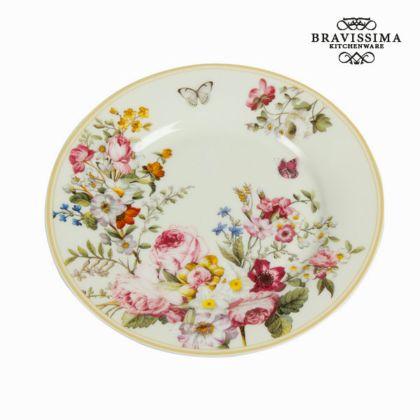 Piatto Piano Porțelan (Ø 19 cm) - Kitchen's Deco Collezione by Bravissima Kitchen