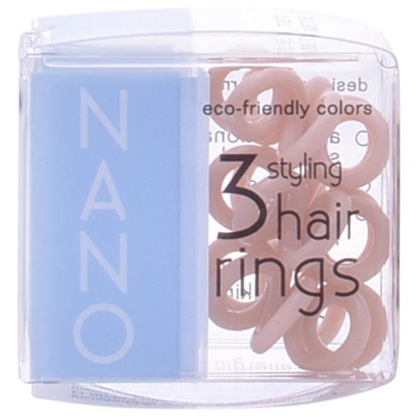 Elastika za Lase Nano Invisibobble - Crystal Clear Hair Rings