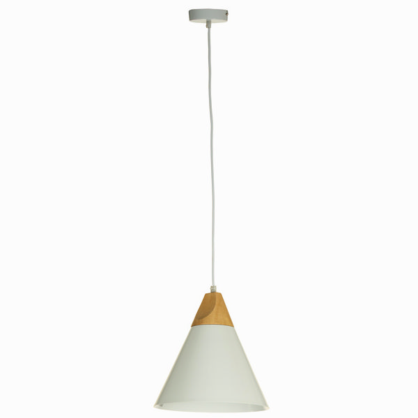 Lámpara de techo blanca by Shine Inline (1)