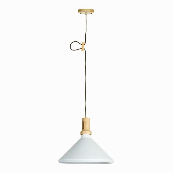 Lámpara de techo blanca by Shine Inline (2)