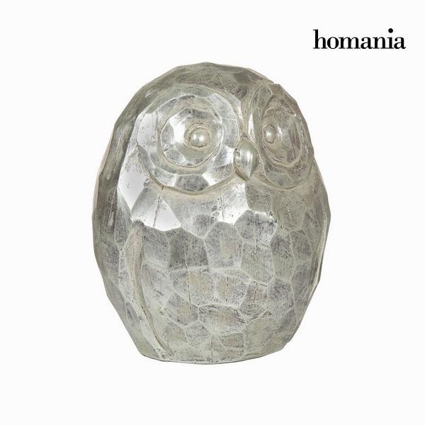 Srebrna figura sova by Homania