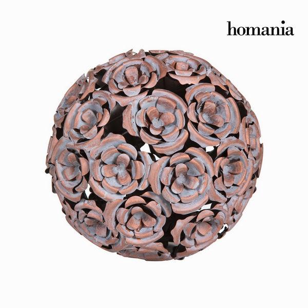Kovinska krogla cvet v bakreni barvi - Art & Metal Zbirka by Homania