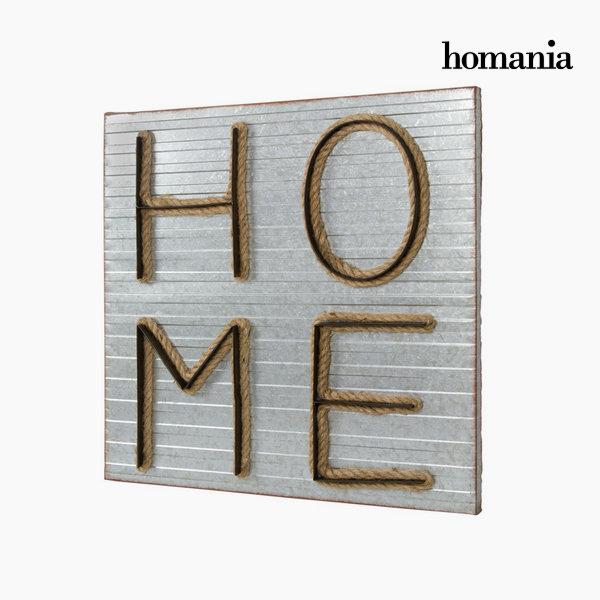 Cuadro metal home by Homania