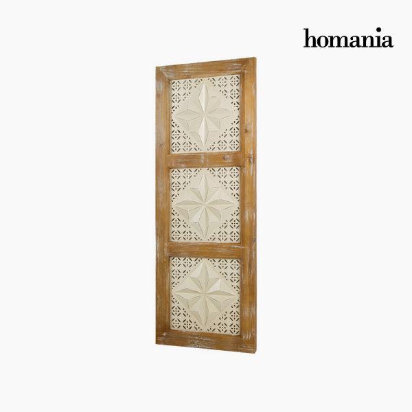 Leseni in kovinski okvir by Homania