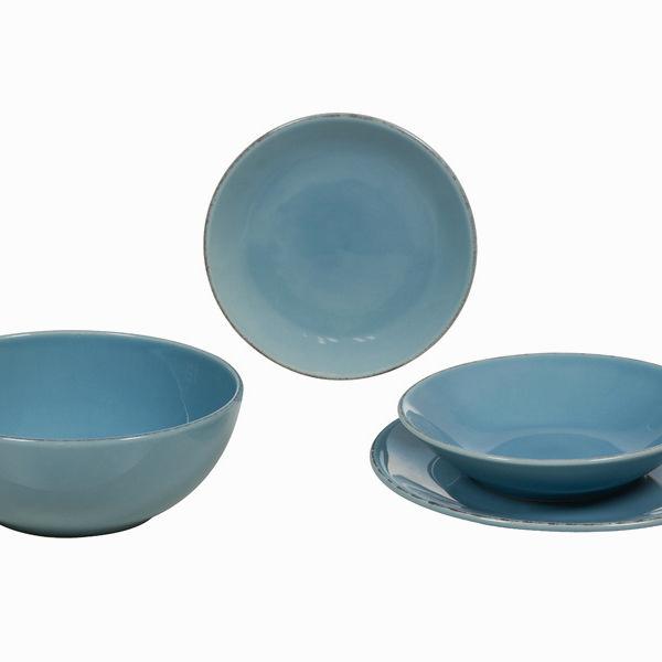Vajilla 19 piezas de loza azul - Colección Kitchen's Deco by Bravissima Kitchen (5)