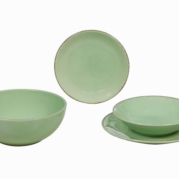 Vajilla 19 piezas de loza verd - Colección Kitchen's Deco by Bravissima Kitchen (5)