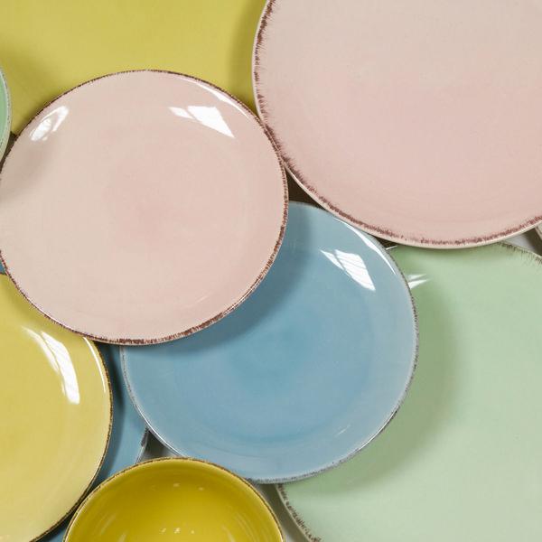 Vajilla 19 piezas de loza rosa - Colección Kitchen's Deco by Bravissima Kitchen (1)