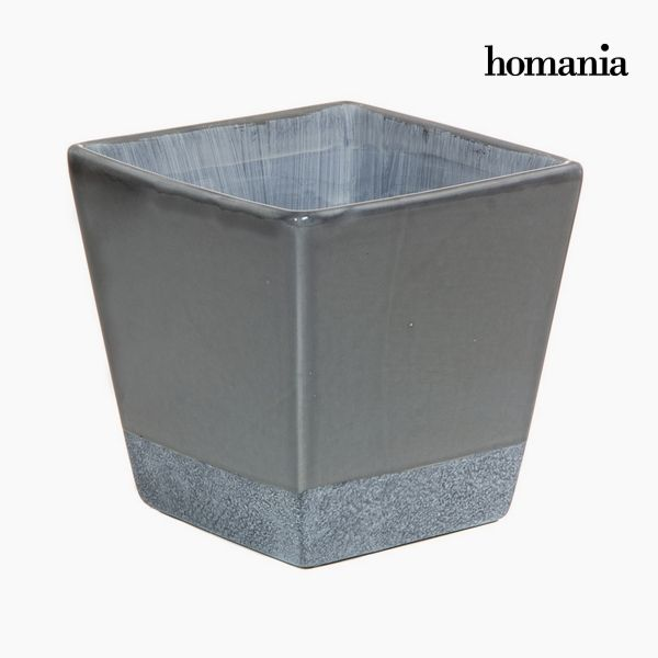 Macetero Cerámica Gris by Homania