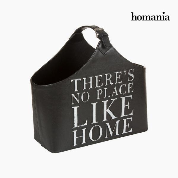 Revistero con correa negro by Homania
