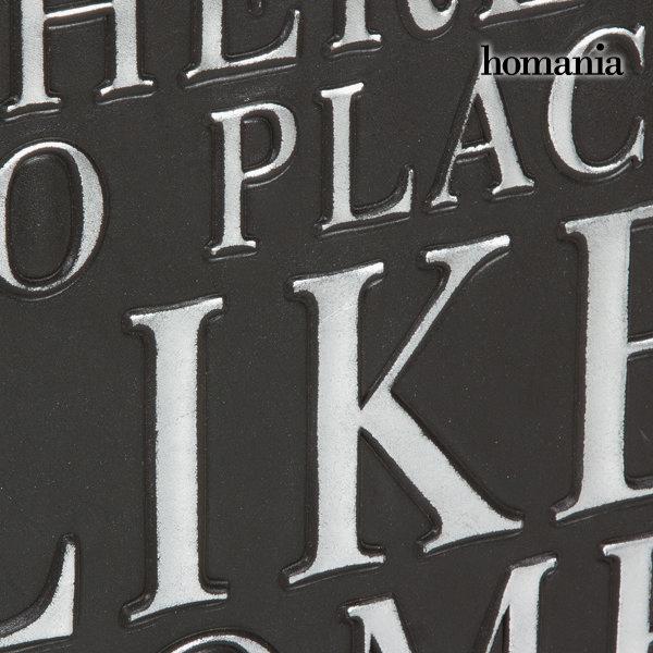 Revistero con correa negro by Homania (2)